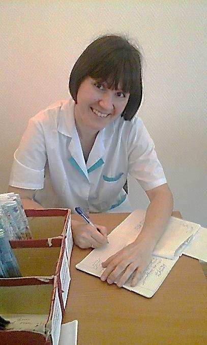 Качур Мария Евгеньевна, медсестра-ортоптистка детского сада № 98