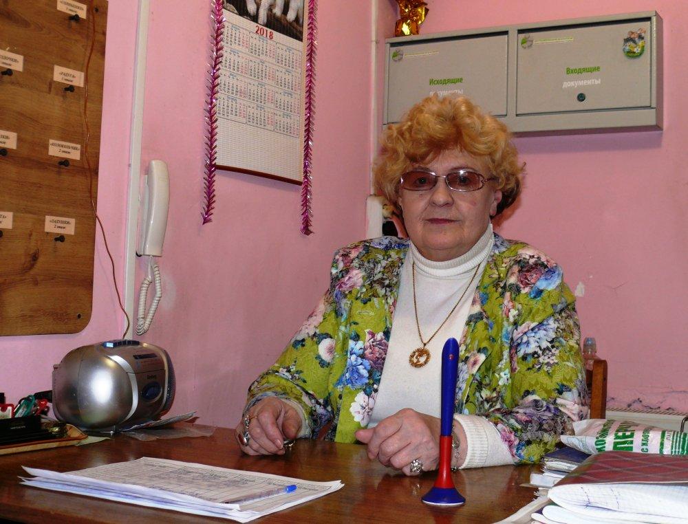 Шамкина Галина Сергеевна, вахтер детского сада № 80