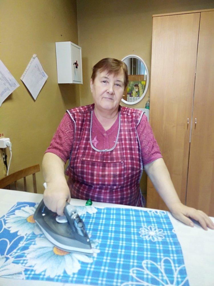 Нефедова Татьяна Михайловна, машинистка по стирки белья